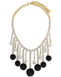 Shourouk - Sequinned Necklace - Lyst
