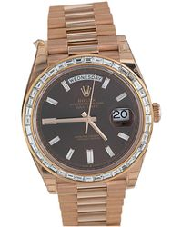 Rolex Pre-owned Oyster Perpetual Date, 40mm - Mettallic