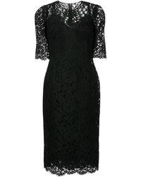 Dolce & Gabbana - レース ドレス - Lyst