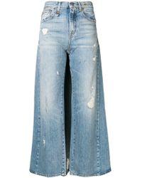 R13 スカートジーンズ - ブルー