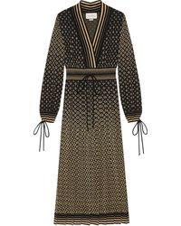 Gucci GGジャカード ドレス - ブラック
