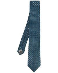 Canali - Corbata con estampado geométrico - Lyst