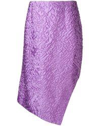 AALTO - Textured Handkerchief Skirt - Lyst