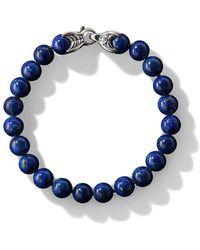 David Yurman Spiritual Bead Bracelet - Blue