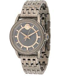 Versace Наручные Часы Code 40 Мм - Серый