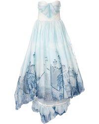 Isabel Sanchis - Вечернее Платье Valencia С Принтом - Lyst