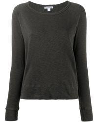James Perse ロングtシャツ - ブラウン