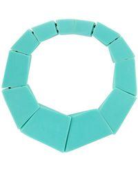 Monies Ожерелье Venezia - Зеленый