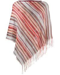 Missoni Schal mit Muster - Rot