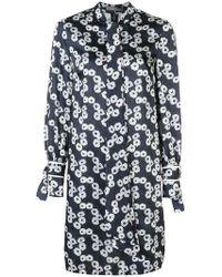 Lela Rose - Short Printed Dress - Lyst