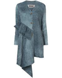 Uma Wang - Asymmetric Textured Jacket - Lyst