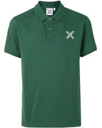KENZO - クロスロゴ ポロシャツ - Lyst