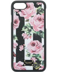 Dolce & Gabbana | Rose Print Iphone7 Case | Lyst