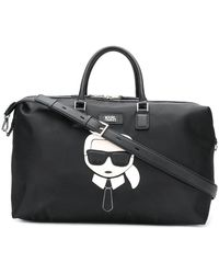 Karl Lagerfeld - Ikonik Weekender Bag - Lyst