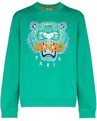 KENZO - Sweatshirt mit Tiger - Lyst