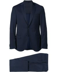 BOSS ツーピース スーツ - ブルー