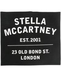 Stella McCartney ロゴ スカーフ - ブラック