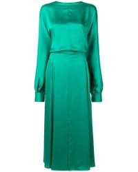 Nina Ricci - Draped Dress - Lyst