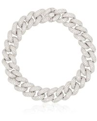 SHAY 18kt Gold And Diamond 6.5 Inch Link Bracelet - Metallic