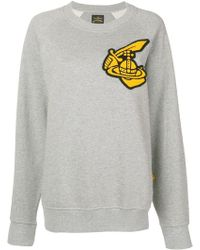 Vivienne Westwood Anglomania - Front Patch Jumper - Lyst