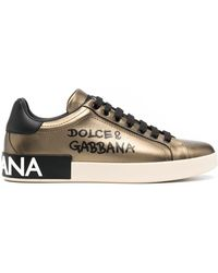 Dolce & Gabbana ポルトフィーノ スニーカー - マルチカラー
