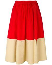 Marni - カラーブロック スカート - Lyst