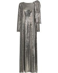 BERNADETTE Richard Sequin-embellished Gown - Metallic