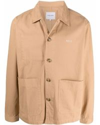 Maison Labiche Long-sleeve Shirt Jacket - Brown