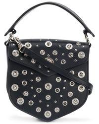 Versus - Studded Shoulder Bag - Lyst