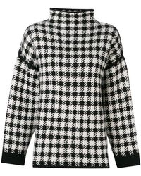 Dagmar - Helena Checked Sweater - Lyst