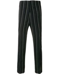 Haider Ackermann Striped trousers - Schwarz
