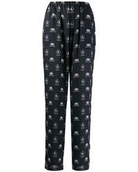 Balenciaga World Food Programme Pyjama Trousers - Black