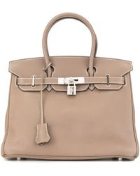 Hermès Pre-owned Birkin 30 Handbag - Brown