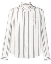 Sandro Chemise à rayures - Blanc