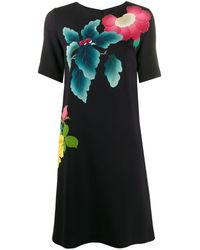Etro フローラル ドレス - ブラック