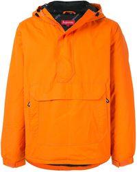 Supreme Kapuzenjacke zum Überziehen - Orange