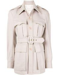 Karen Walker Olivine Belted Jacket - Multicolour