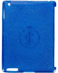 Juicy Couture Glittered Tablet Case - Blue