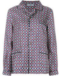 Prada Пижамная Рубашка - Многоцветный