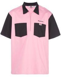 Supreme X Ben Davis ボウリングシャツ - ピンク