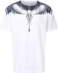 Marcelo Burlon - T shirt à imprimé graphique - Lyst