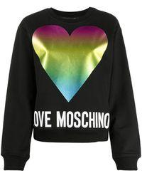 Love Moschino - プリント スウェットシャツ - Lyst