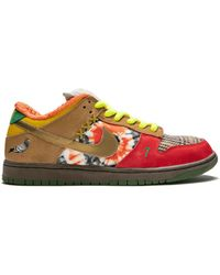 Nike Sb What The Dunk Sneakers - White