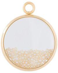 Aurelie Bidermann 'chivoir' Fine Pearl Large Pendant - Metallic