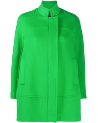 Gianluca Capannolo Concealed Button Coat - Green