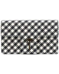 Tomas Maier - Chequer T-flap Clutch - Lyst