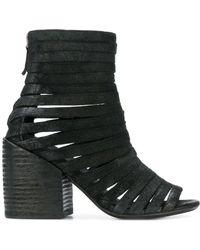 Marsèll Stiefel aus Leder - Schwarz