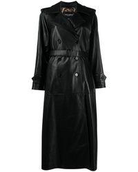 Dolce & Gabbana Пальто С Поясом - Черный