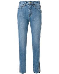 Gcds - Side Stripe Jeans - Lyst