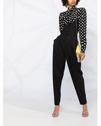 Dolce & Gabbana ストラップレス ジャンプスーツ - ブラック